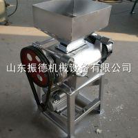 粗粮玉米破碎机 花生米压碎机 电动挤扁机 振德直供