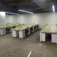 深圳华明办公家具厂家直销4人位办公桌 隔断办公屏风 职员卡座