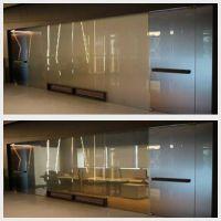 智能调光玻璃-欧毅夹胶双重玻璃EVA调光膜隔断百叶窗幕墙玻璃