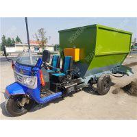 纤维性物料抛料机 草料混合撒料车 养殖设备生产