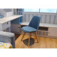 北欧实木餐椅现代简约懒人休闲椅创意靠背书桌洽谈椅
