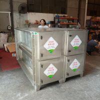 东能环保供应活性炭吸附箱环保活性炭设备除臭净化处理箱6000风量