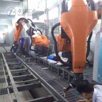 喷涂机器人现场调试 免费培训编程 进口ABB机器人集成商