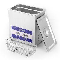 深圳厂家供应 科涞尔KE-022S 商用小型超声波清洗机5L 120W 数码加热系列