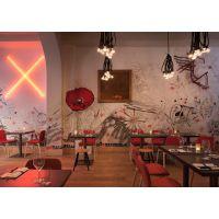 上海主题复古餐厅家具,酒楼桌椅价格,主题餐厅桌子款式价格