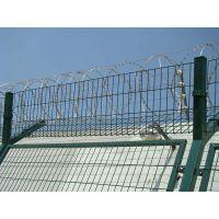 刺铁丝防攀网|监狱护栏网|Y型安全防御护网|刺绳安全防护网