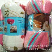 大量批发春夏毛巾被促销双面绒儿童毯厂家直销珊瑚绒毛毯 外贸