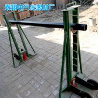 厂家直销10T槽钢式梯形液压放线架 电缆光缆升降架 电力工具批发