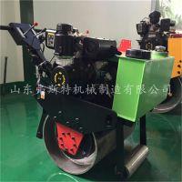 弗斯特FST-600手扶式单钢轮振动碾,微型回填土压实机厂家供应