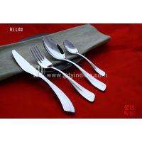 【奢华之爱】意大利名师设计不锈钢刀叉三件套/西餐刀叉