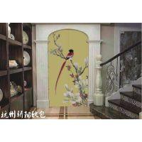 杭州骄阳软包背景墙、皮革电视背景墙、皮革壁画生产销售