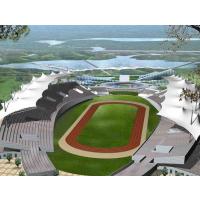 常州膜结构体育场看台,苏州展览中心膜结构景观