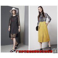 一线深圳时尚品牌折扣女装E15新款货源尾货批发