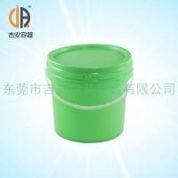 PP 3.5L涂料桶 3.5kg包装塑料圆桶 厂家直销