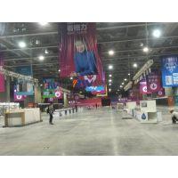 广州大型展览厂家 展会物料租赁 八棱柱展板 展会射灯 邦威展览