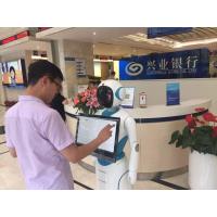 CSJB高智能服务机器人 不同场景应用可刷身份证、银行卡、会员卡,选装打印机