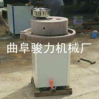 石磨豆浆机 商用豆腐制作加工设备 不锈钢多功能石磨机 骏力定制