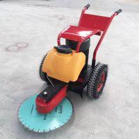 济宁手推式地面切桩机 600型混凝土切割机 卡箍式抱箍式切桩机价格