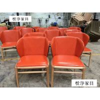 浙江杭州西餐厅家具款式,休闲餐厅洽谈桌椅组合,简约西餐桌椅定做