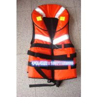 75N高浮力儿童救生衣 腹部松紧可调水上救生衣