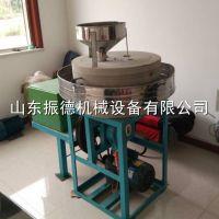 米粉面粉电动石磨机 粮食加工磨面机 粗粮面粉机 振德畅销