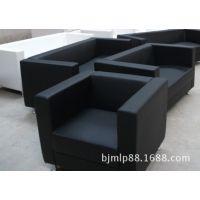 北京沙发可定制PU皮质商务办公小户型时尚创意简约沙发 沙发租赁