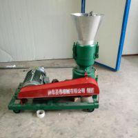 电动柴油两用平模颗粒机 混合饲料羊用颗粒机