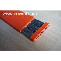 裸铜丝或镀锡铜线编织编织屏蔽-SPC上力缆耐油高柔性 立体停车场扁电缆