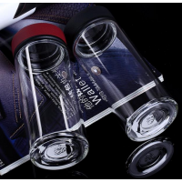 国庆节商家促销活动小礼品,山东鑫泉玻璃口杯,茶具,玻璃杯,学生杯,都能订制印字,开业典礼宣传杯