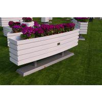 户外桶形花箱 定制定做桶形花箱 防腐花箱 景观花箱 绿化工程花箱