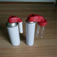 自喷漆外挂式喷头点缤气雾剂喷头手喷漆特殊配件外挂小喷罐