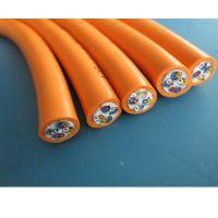 PVC耐磨拖链电缆/高柔性耐弯曲/超高速TRVV电缆