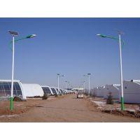 百耀照明内蒙古12V Q235 优质钢材LED太阳能路灯工程案例