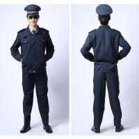 春秋保安服装 2011式保安服装墨绿色押运服国家制式物业员工装制服套装男士QS099乔森
