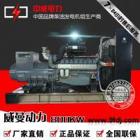 800KW柴油发电机组报价800千瓦威曼电力D30A2发电机组斯
