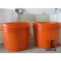 1000L圆形周转桶/1吨大型塑料圆桶/1吨运输桶