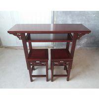 古典中式 国学课桌 书法桌 书画桌 学生学校课桌椅 国学馆课桌