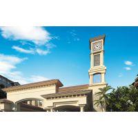 高层大楼上大钟表-楼体挂钟,建筑防水钟,建筑大型钟|华声钟表