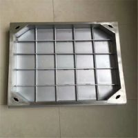 耀恒 不锈钢装饰井盖 不锈钢隐形井盖 在一定的承受能力范围内不会直接脆断