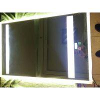 简约浴室镜子贴墙异形led灯镜背光卫浴镜壁挂无框卫浴镜子定制