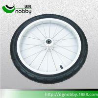 东莞诺贝2017自行车轮生产厂家,铁轮圈,铝轮圈充气轮