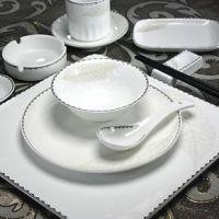景德镇陶瓷酒店餐具定制厂家 高档陶瓷酒店餐具 唐龙陶瓷