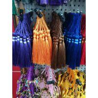 包装盒彩色棉线流苏饰品挂件吊穗