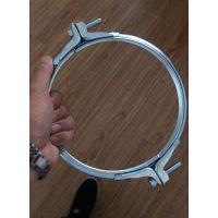 风管法兰连接 简单的连接方法 抱箍 快速法兰装置用法说明