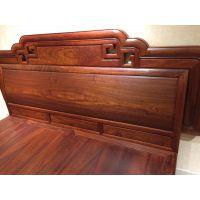 缅甸花梨木家具床 新中式明式红木沙发图片