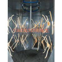 台湾原装夹板衣架全自动静电喷漆设备
