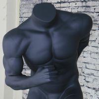 出售强壮肌肉型男跑步模特