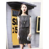 鸿星米兰17夏装欧美品牌折扣女装加盟慕拉多种款式折扣女装加盟网
