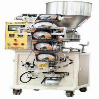 全自动干炒怪味花生米颗粒小型立式包装机自动计量称重灌装机械