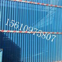 圆孔挡风板 防风圆孔喷涂厂家 蓝色防风抑尘网